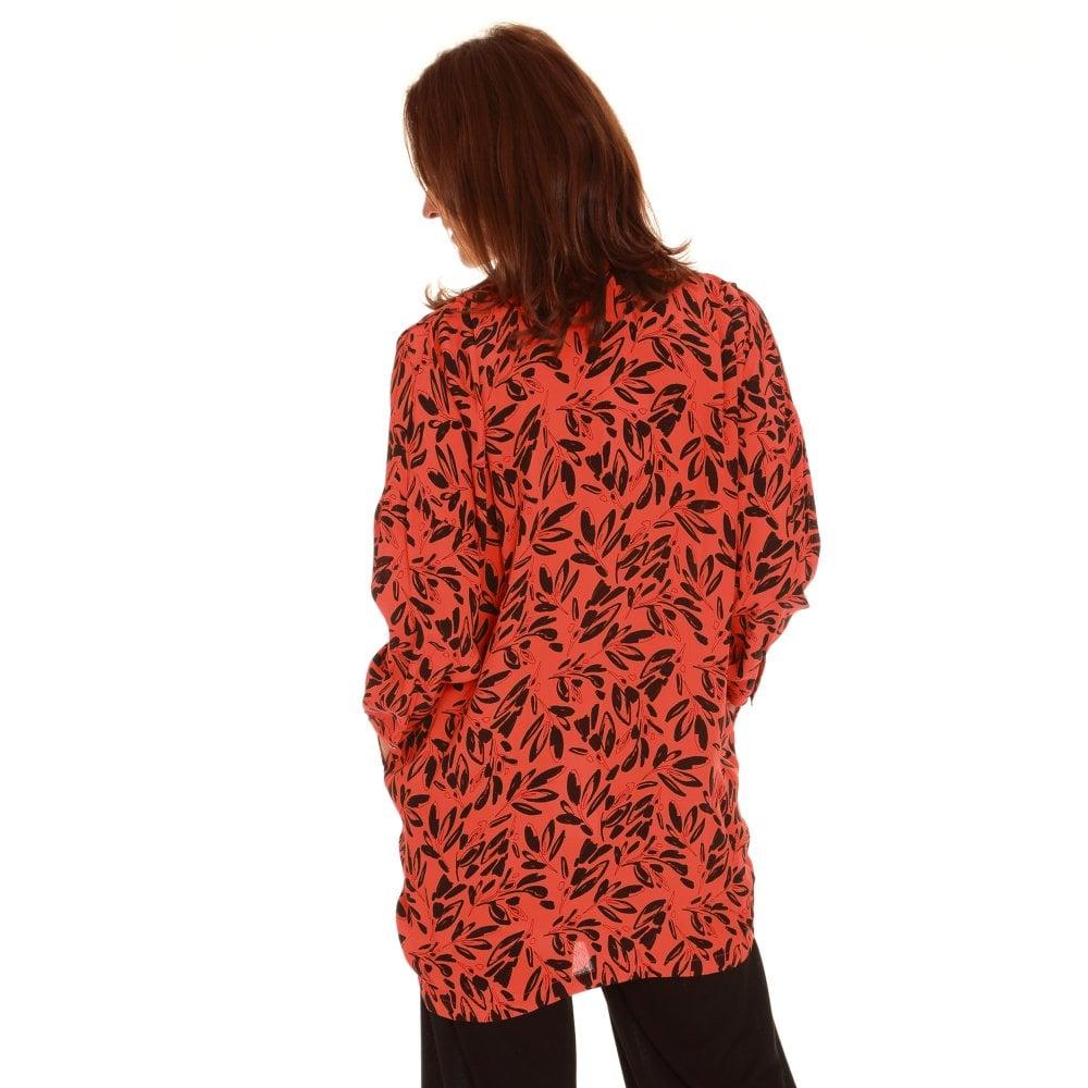 Masai orange et noir tunique ianti 1000439