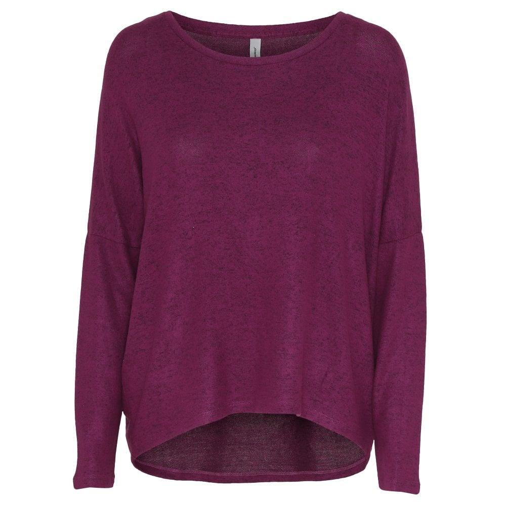 Blush Grey Tan or Fuchsia Sweater 24097