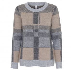 Soyaconcept Faded Blue Sweater 32784