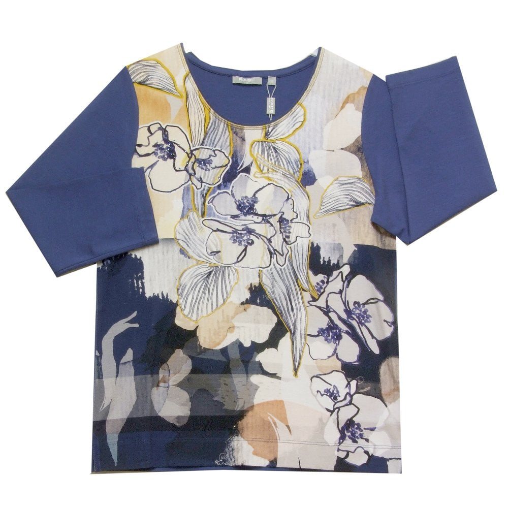 T Of From Blue Shirt 41 Yellow Womens 013351 Ahernes Rabe With WH29DEeIYb