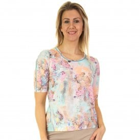 Lucia Top Spot or Flower Print 44 413350